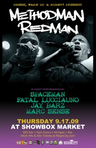 Method Man & Redman at The Showbox @ The Market