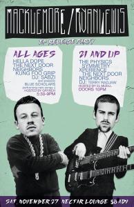 Macklemore + Ryan Lewis EP Release Party