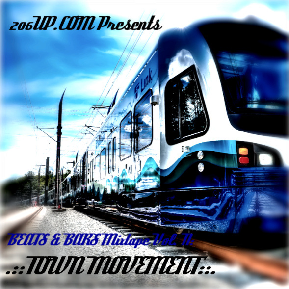 206UP Mixtape V2 front