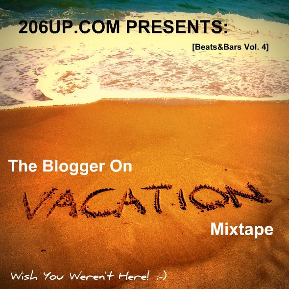 206UP Mixtape V4 front