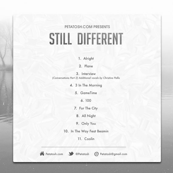 Peta Tosh - Still Different (back)