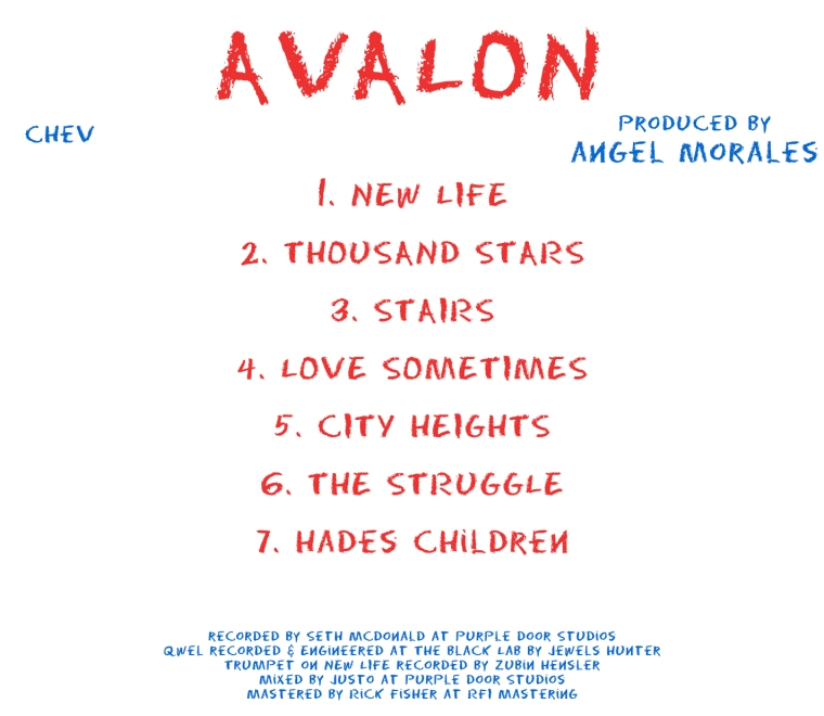 chev - AVALON - avalon back cover