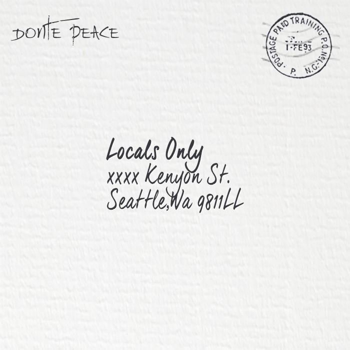 Donte Peace - Locals Only