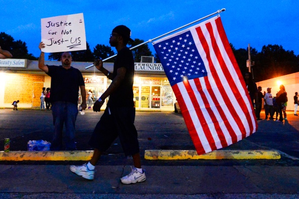 Protest continues over Michael Brown shooting