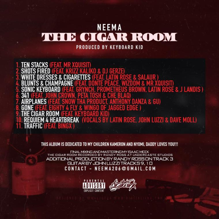 Neema - The Cigar Room back