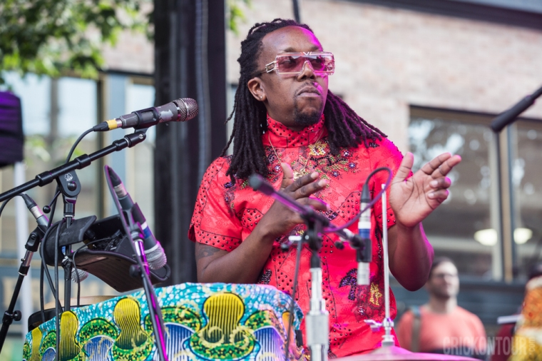 Shabazz Palaces. Photo courtesy of Alex Crick / SMI.